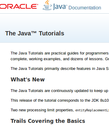 Java learning resources